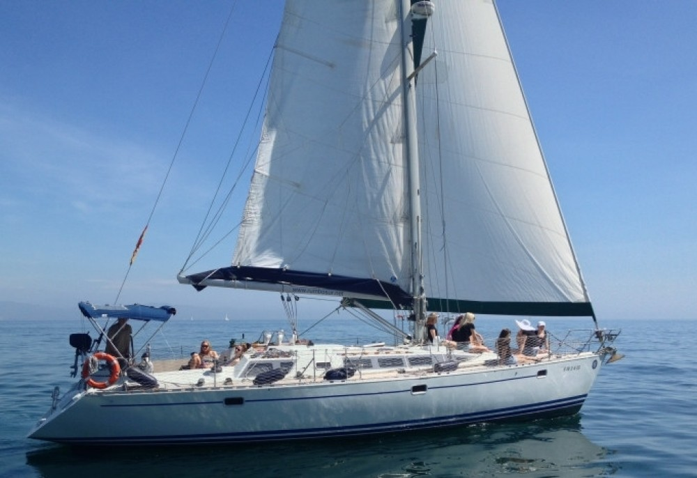 Sailboat for rent Narganá at the best price