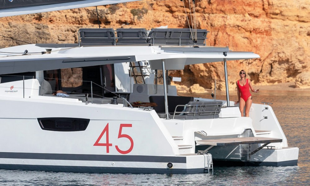 Fountaine Pajot Fountaine Pajot 45 between personal and professional Athens