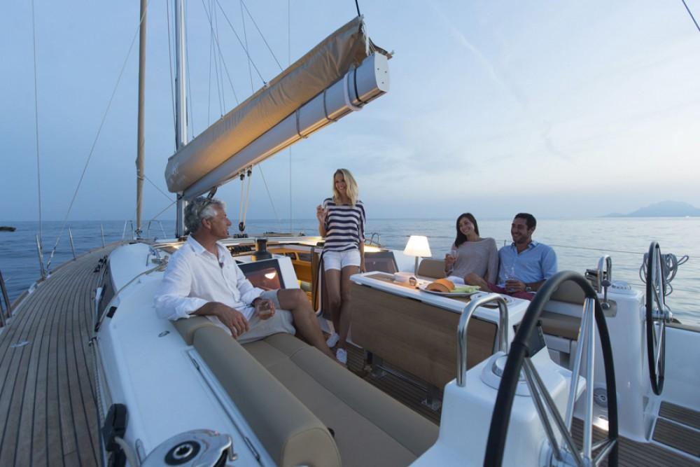 Boat rental Tourlos cheap Dufour 460 Grand Large