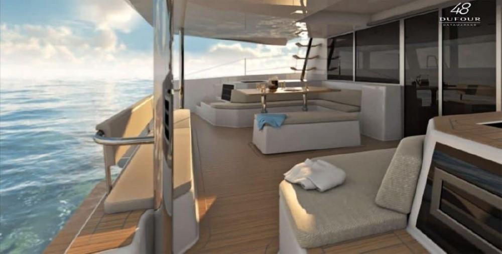Catamaran for rent Tourlos at the best price
