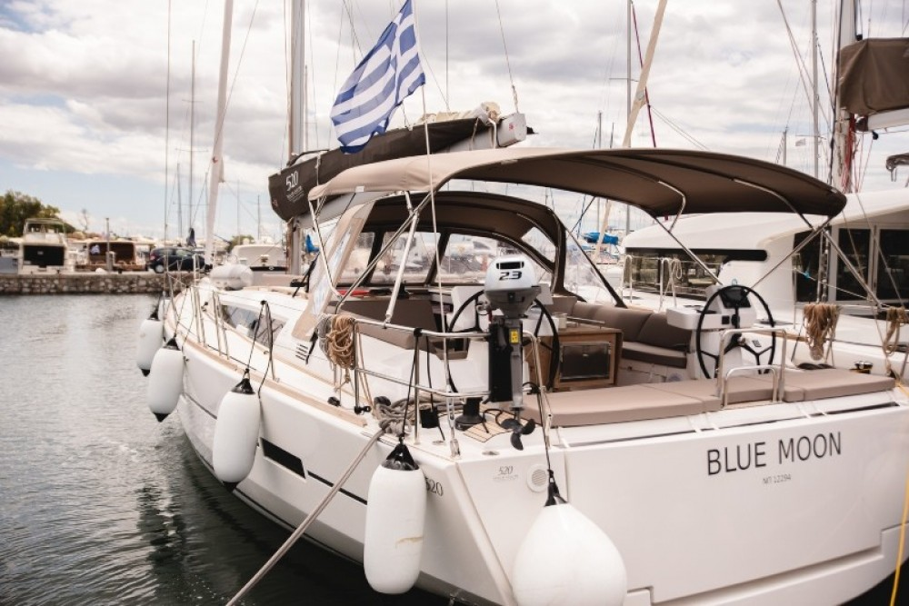 Rental yacht Greece - Dufour Dufour 520 GL on SamBoat