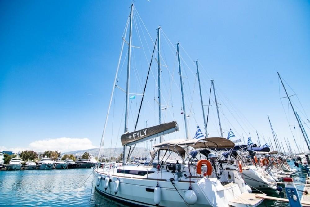 Boat rental Atene cheap Sun Odyssey 519