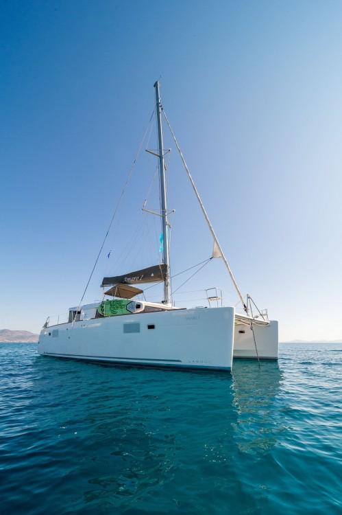 Boat rental Tourlos cheap Lagoon 450 F