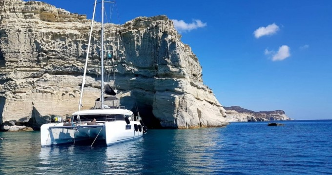 Boat rental Athens cheap Lagoon 50