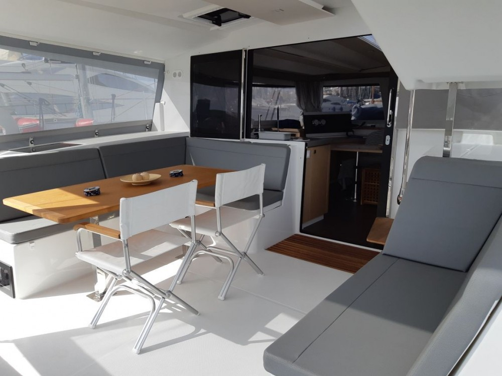 Fountaine Pajot Lucia 40 between personal and professional Tourlos