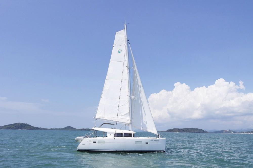 Catamaran for rent Phuket at the best price