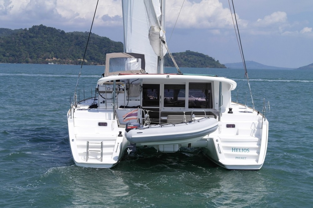Rental Catamaran in Phuket - Lagoon Catamaran Lagoon 400