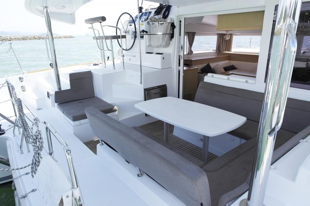 Hire Catamaran with or without skipper Lagoon Catamaran Phuket