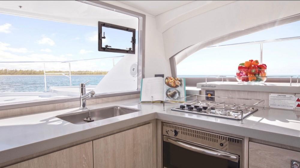 Boat rental Cartagena cheap Leopard 43