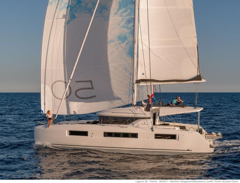 Rental Catamaran in Le Marin - Lagoon Lagoon 50