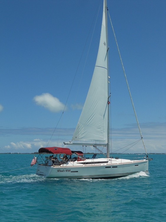 Boat rental Key West cheap Jeanneau 43