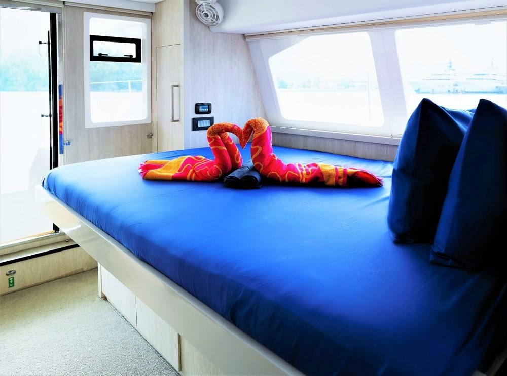 Rental Catamaran in Victoria - Robertson and Caine Leopard 58