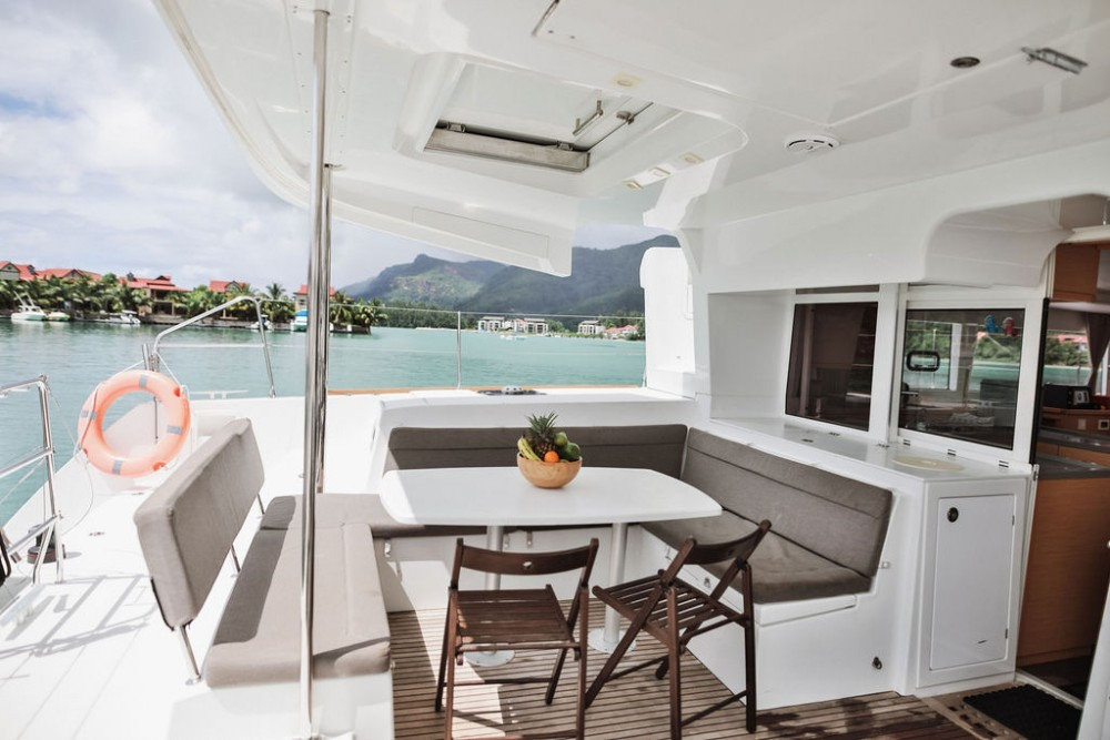 Hire Catamaran with or without skipper Lagoon Catamaran Seychelles