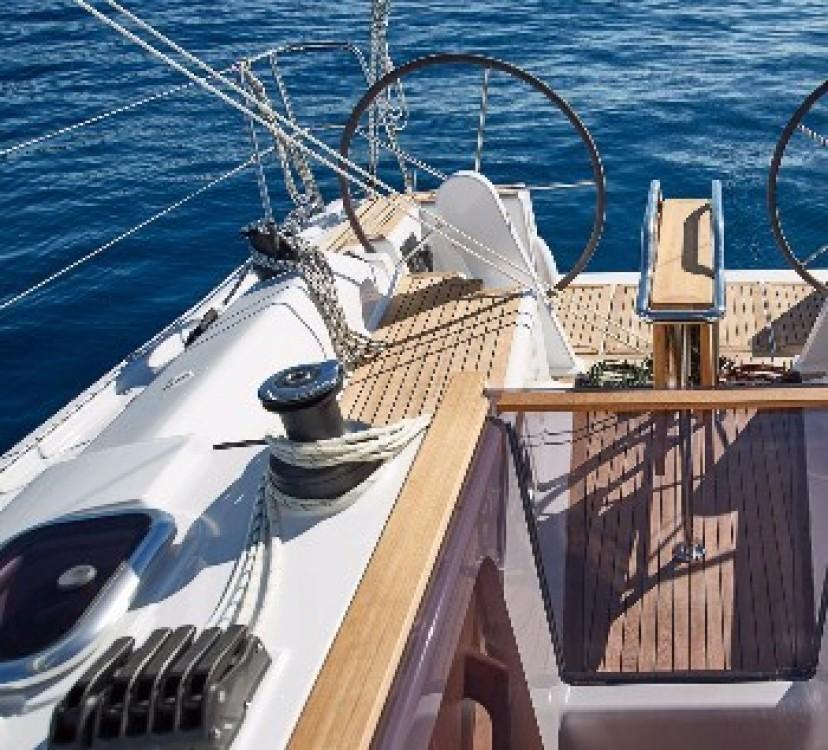 Boat rental Hamble Point Marina cheap Hanse 458
