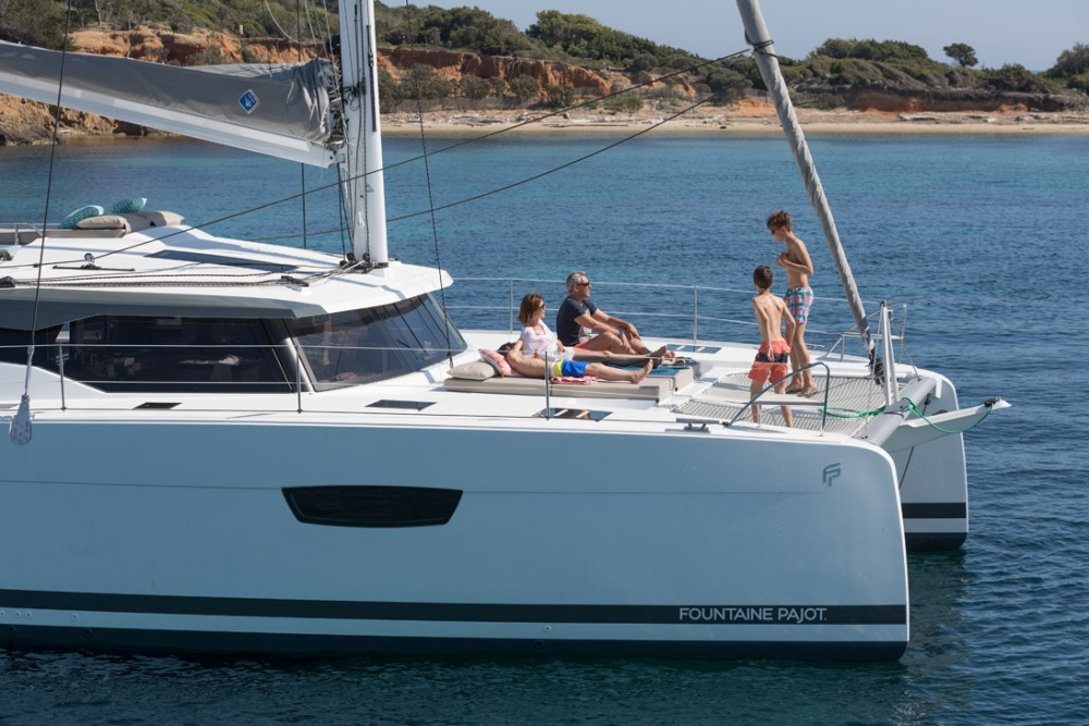 Hire Catamaran with or without skipper Fountaine Pajot Seychelles