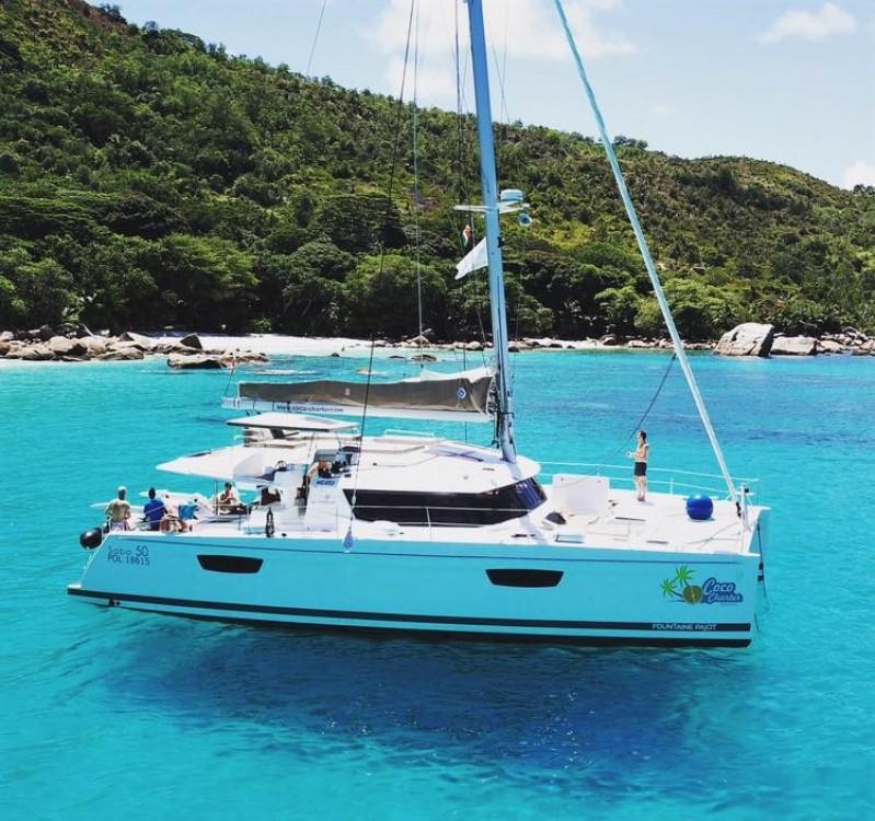 Rent a Fountaine Pajot Saba 50 Seychelles
