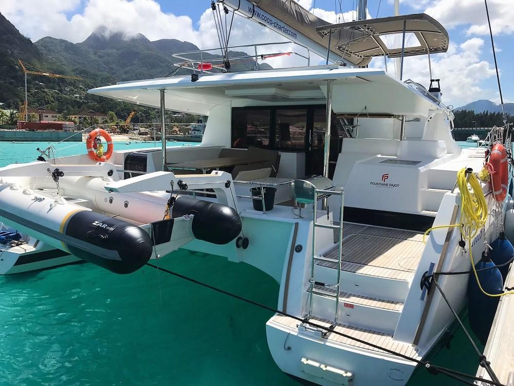 Rental Catamaran in Seychelles - Fountaine Pajot Saba 50