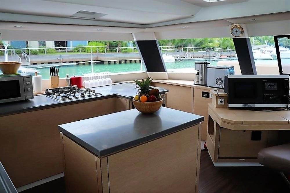 Rental yacht Seychelles - Fountaine Pajot Saba 50 on SamBoat