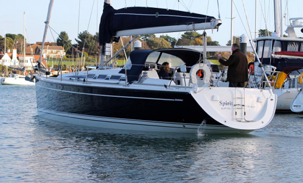 Dehler Dehler 39 SQ between personal and professional Hamble Point Marina