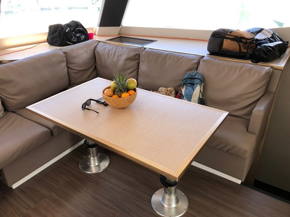Fountaine Pajot Saba 50 between personal and professional Seychelles