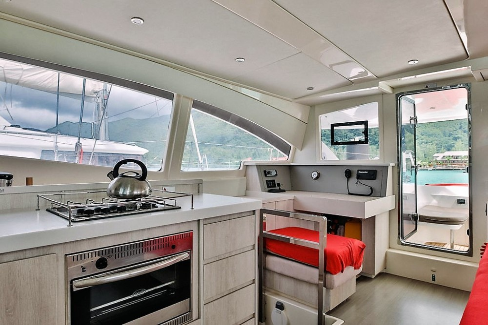 Robertson and Caine Leopard 48 between personal and professional Seychelles
