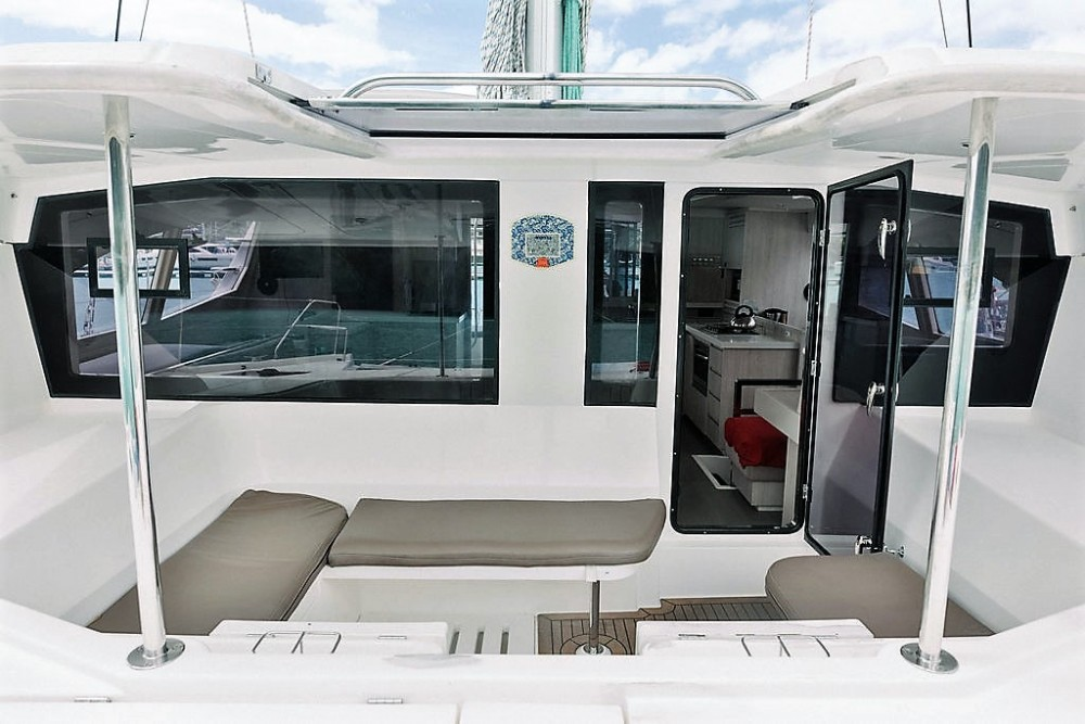 Rent a Robertson and Caine Leopard 48 Seychelles