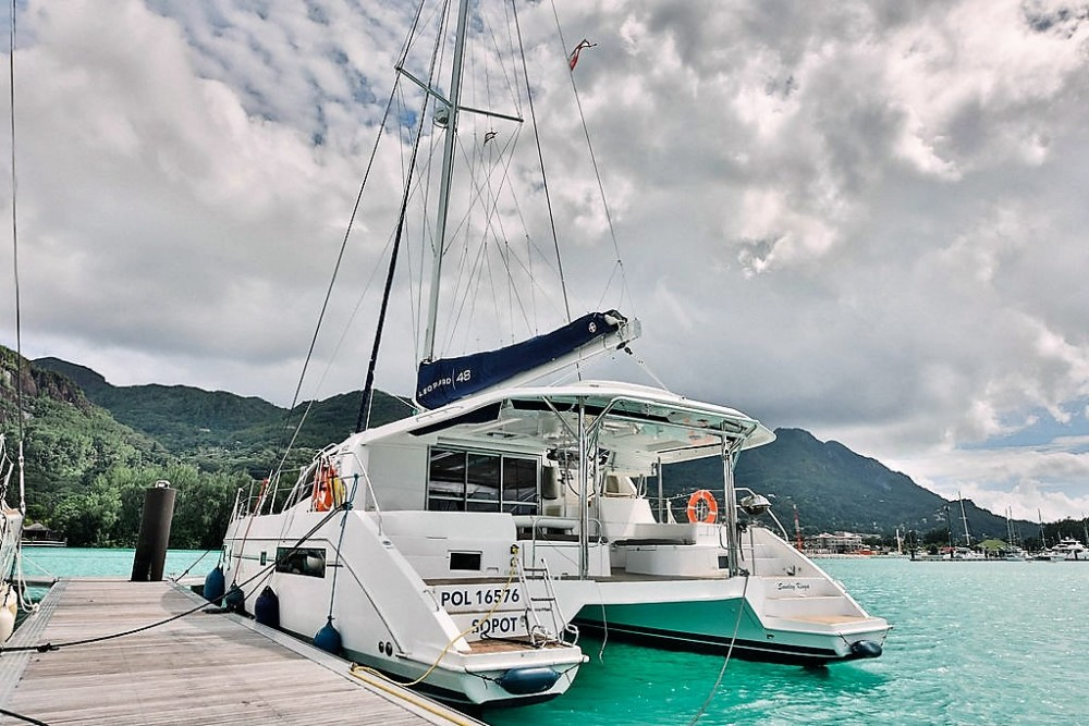 Hire Catamaran with or without skipper Robertson and Caine Seychelles