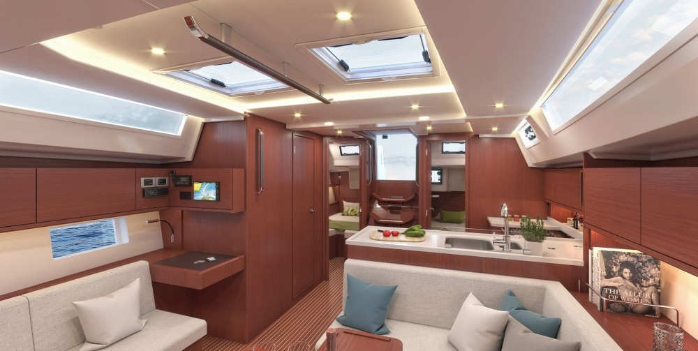 Rental yacht Área Metropolitana de Lisboa - Bavaria Bavaria C45 Style on SamBoat