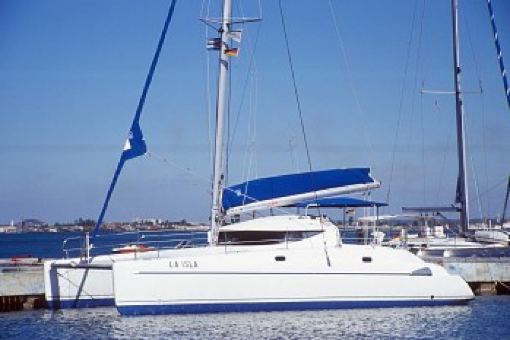 Fountaine Pajot Athena 38 between personal and professional Cienfuegos