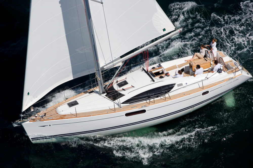 Boat rental Antibes cheap Sun Odyssey 45 DS