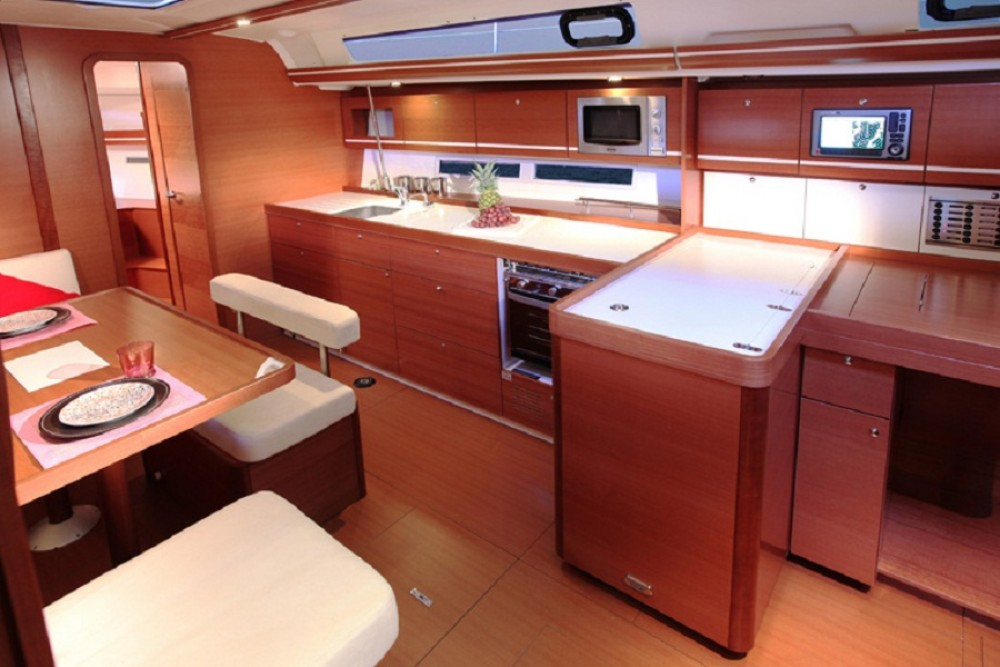 Boat rental Azores cheap Dufour 450 Grand Large