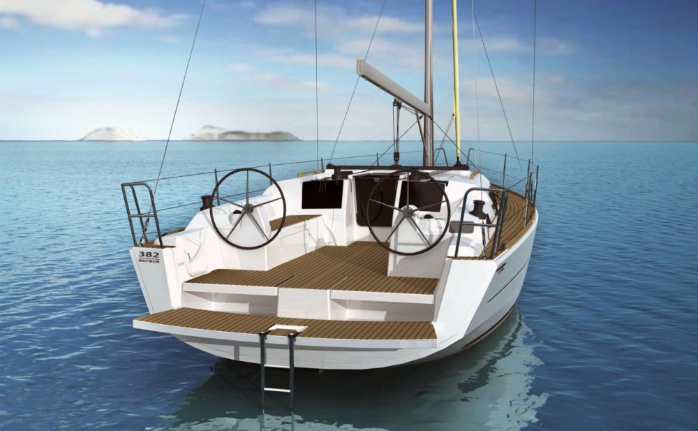 Boat rental Antibes cheap Dufour 382 Grand Large