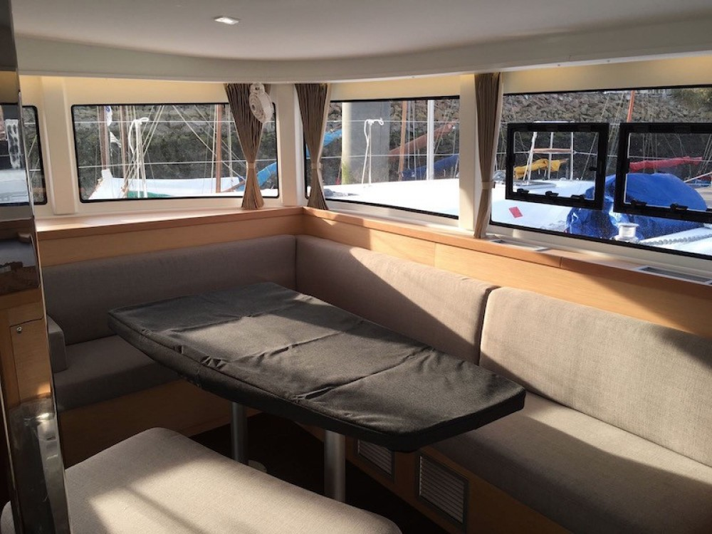 Boat rental Capo d'Orlando cheap Lagoon 42