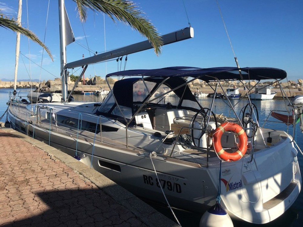 Jeanneau Sun Odyssey 519 between personal and professional Trapani