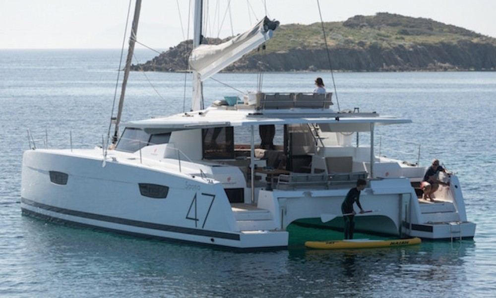 Rental Catamaran in Ajaccio - Fountaine Pajot Saona 47