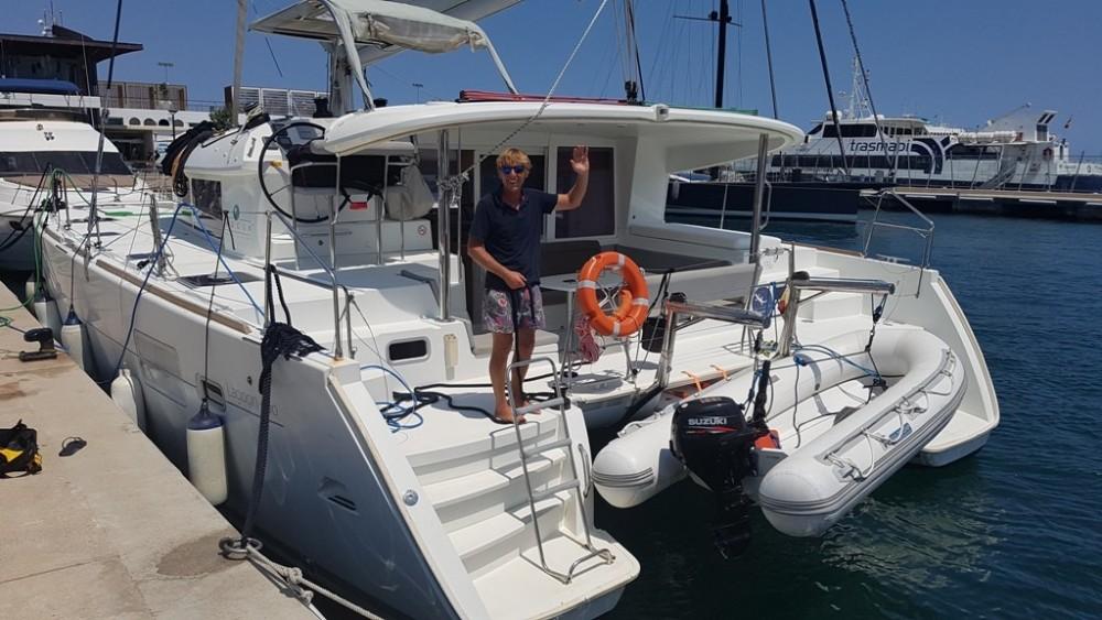Rental yacht  - Lagoon Lagoon 400 on SamBoat