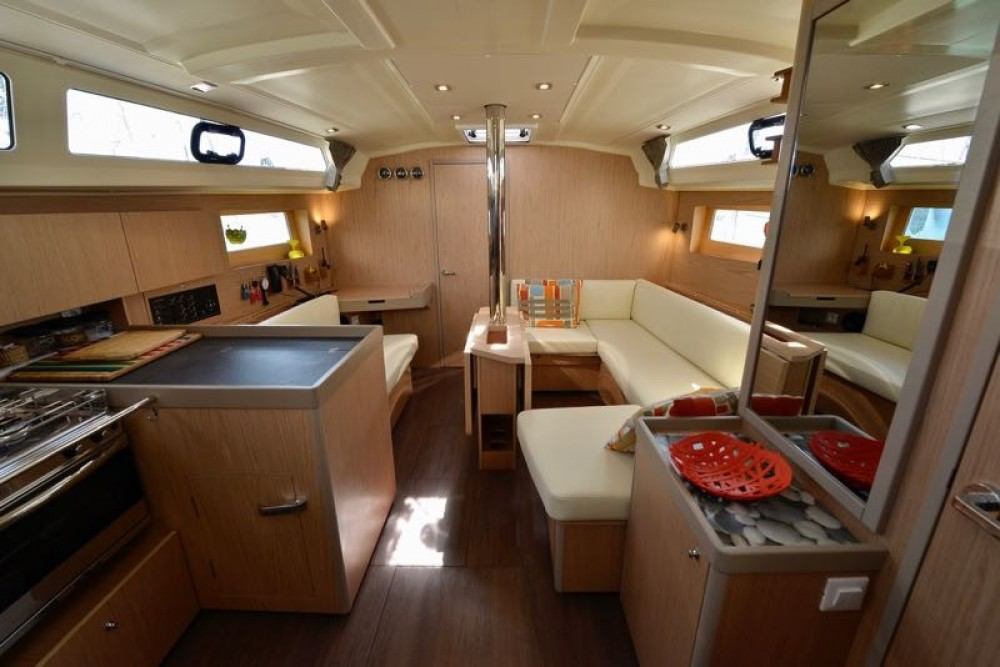 Benetau Yachts Oceanis 41.1 between personal and professional Cecina
