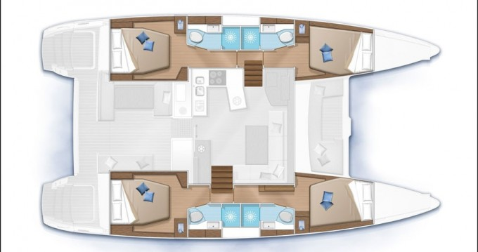Catamaran for rent Playa Sardinera at the best price