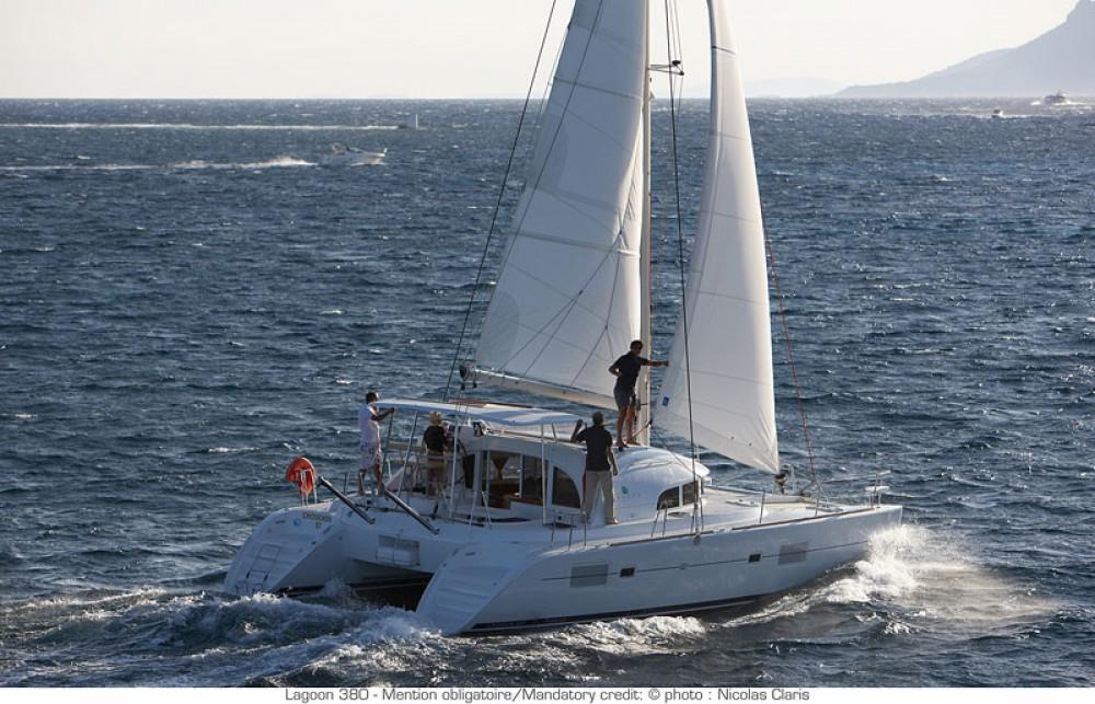 Catamaran for rent Puerto Rico at the best price