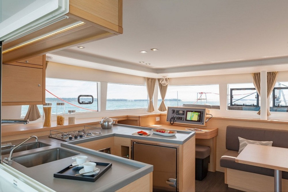 Rental Catamaran in Puerto Rico - Lagoon Lagoon 450 S