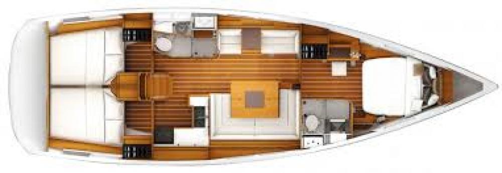 Rental yacht Puerto Rico - Jeanneau Sun Odyssey 349 on SamBoat