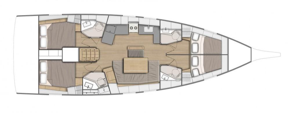 Boat rental Cala d'Or cheap Oceanis 51.1