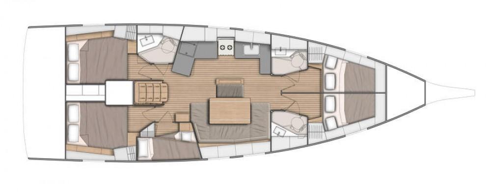 Rental yacht Procida - Bénéteau Oceanis 461 on SamBoat