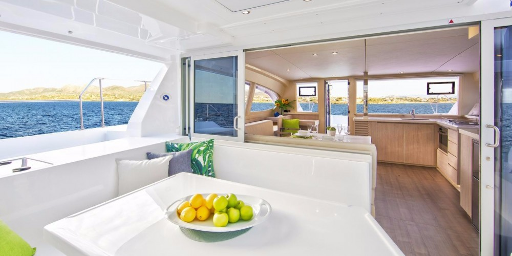 Hire Catamaran with or without skipper Robertson-Caine Cannigione