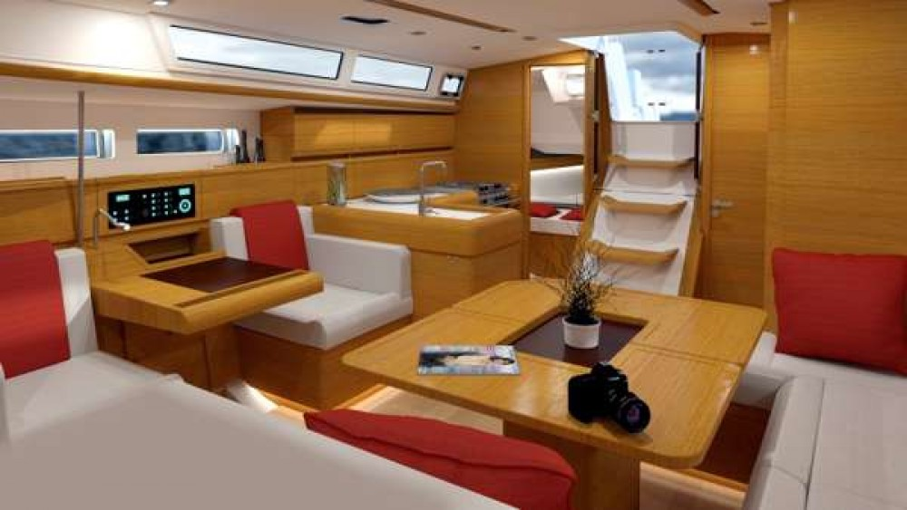 Jeanneau Sun Odyssey 479 between personal and professional Procida