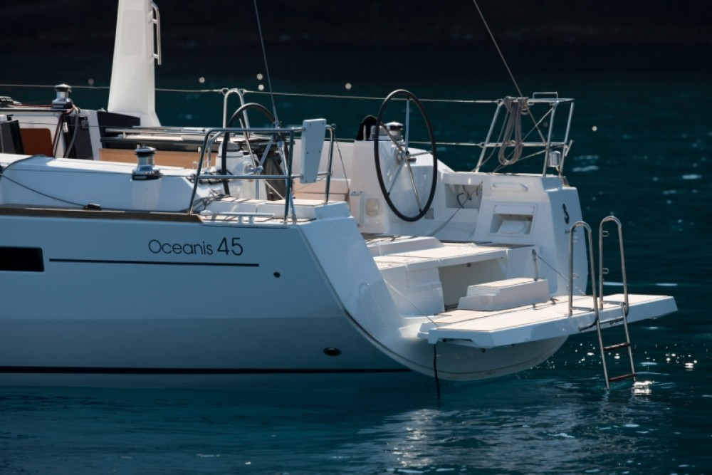 Boat rental Furnari cheap Oceanis 45
