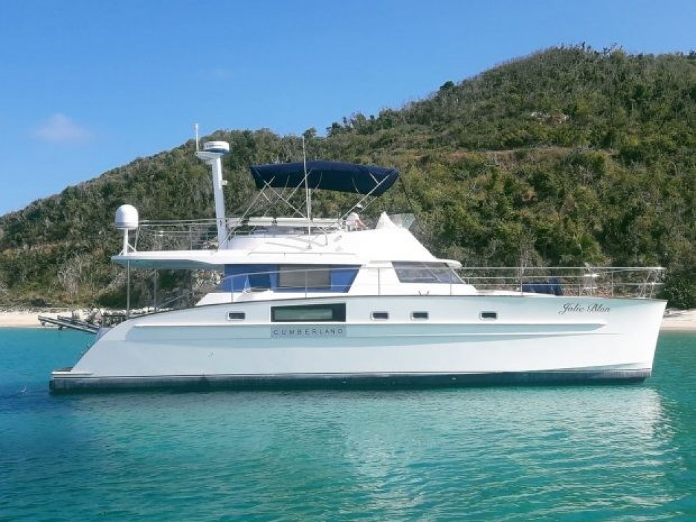 Rental yacht Road Town - Fontaine Cumberland 44 on SamBoat