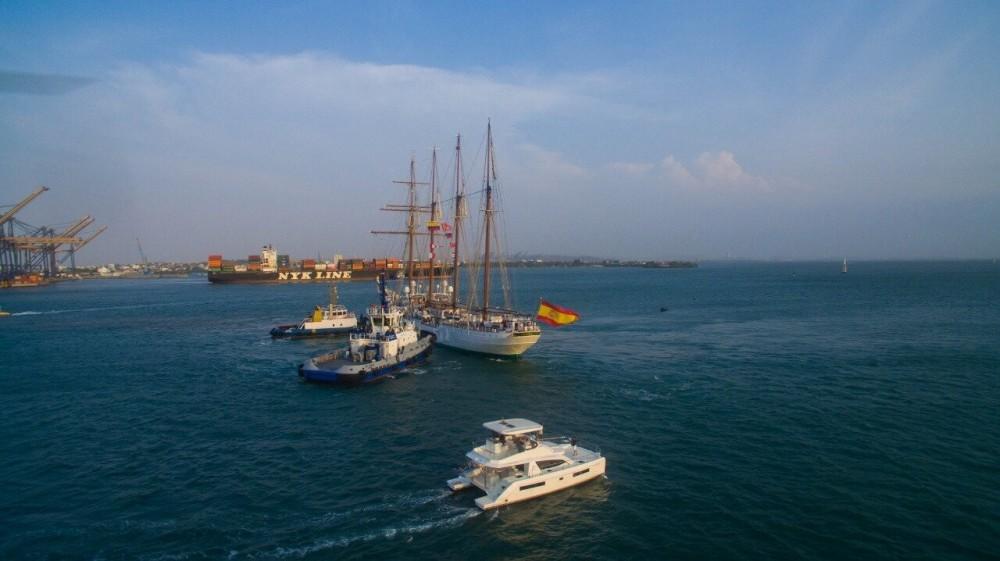 Catamaran for rent Cartagena at the best price