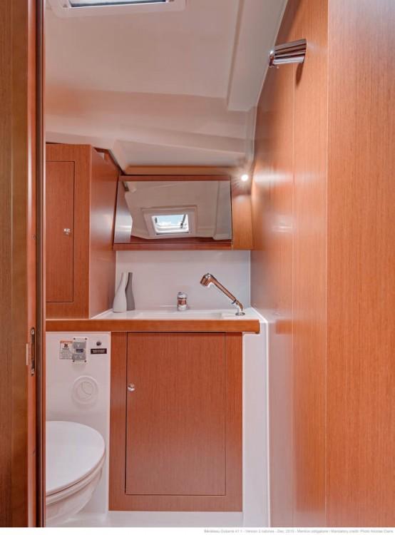 Boat rental Furnari cheap Oceanis 411