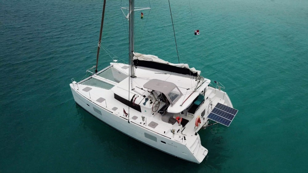 Hire Catamaran with or without skipper Lagoon Bolívar